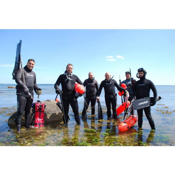 Undervandsjagt event 20 personer - inkl. leje af udstyr & forplejning