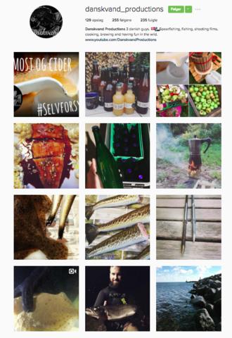 Instagram Danskvand productions